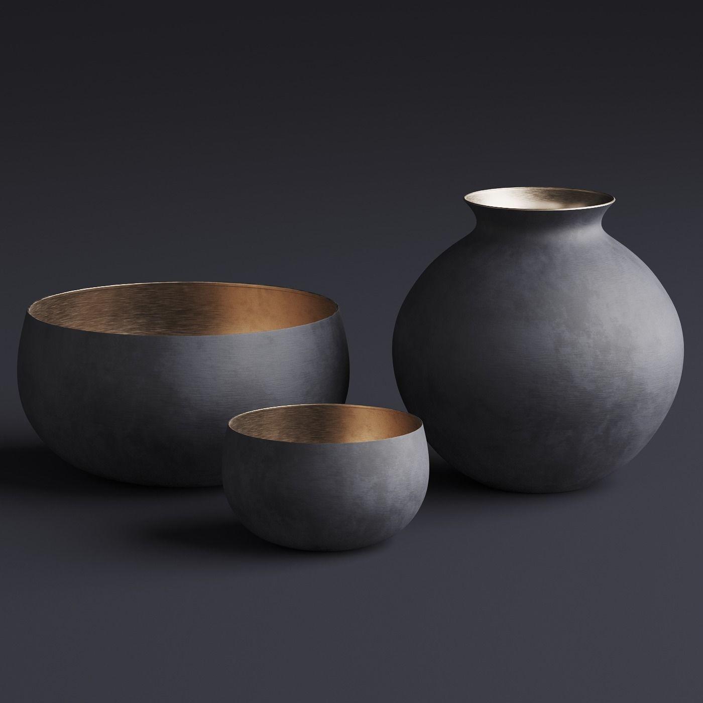 RH  Matte Black  Brass Vessel - Bowl