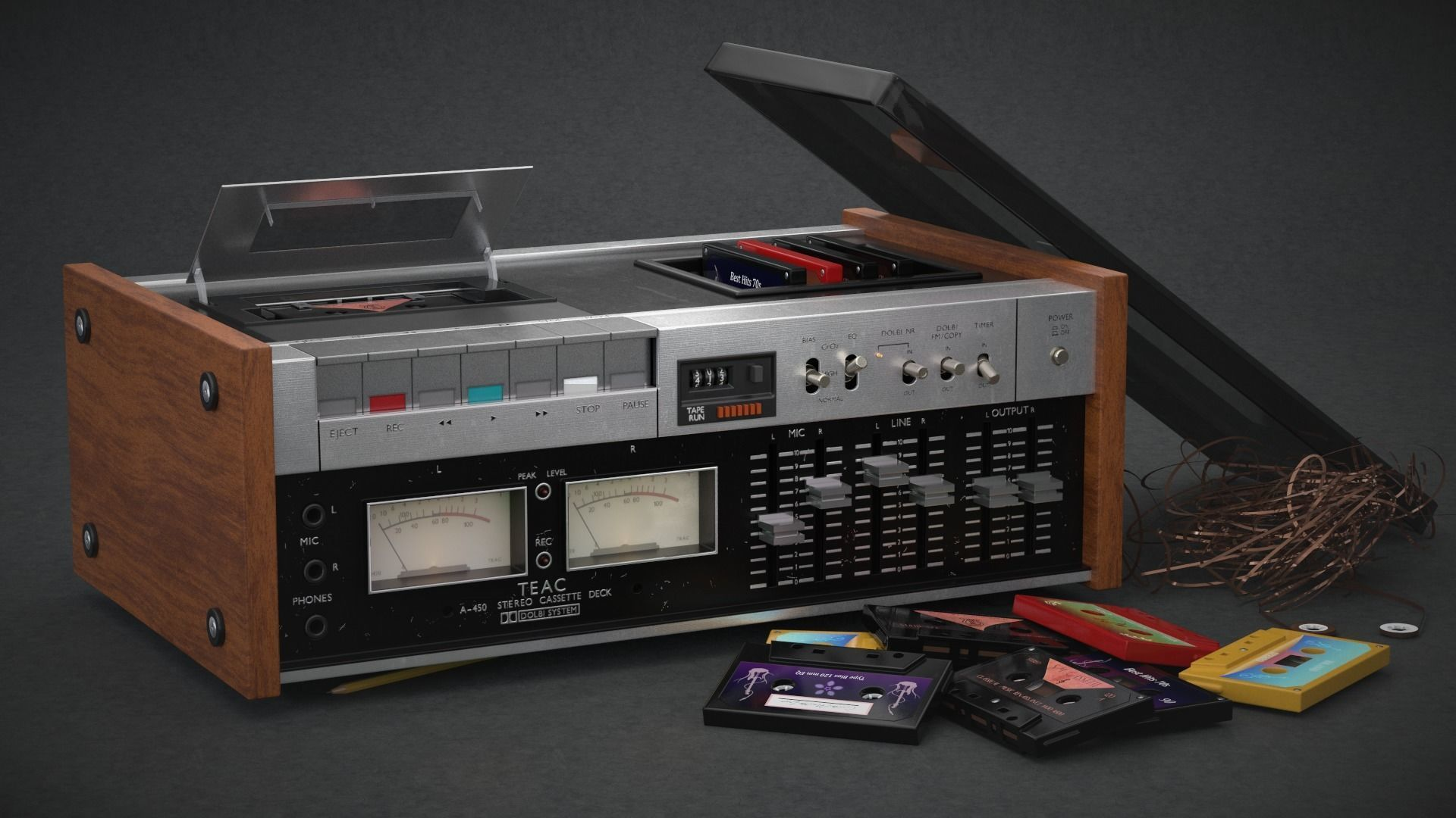TEAC A-450 Stereo System
