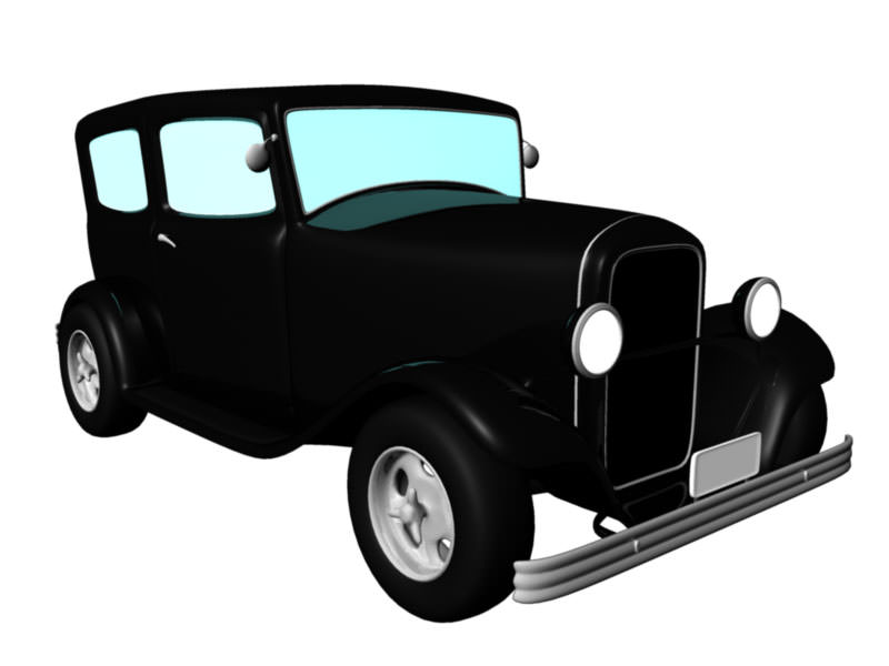 Old Car 1940 3D model | CGTrader