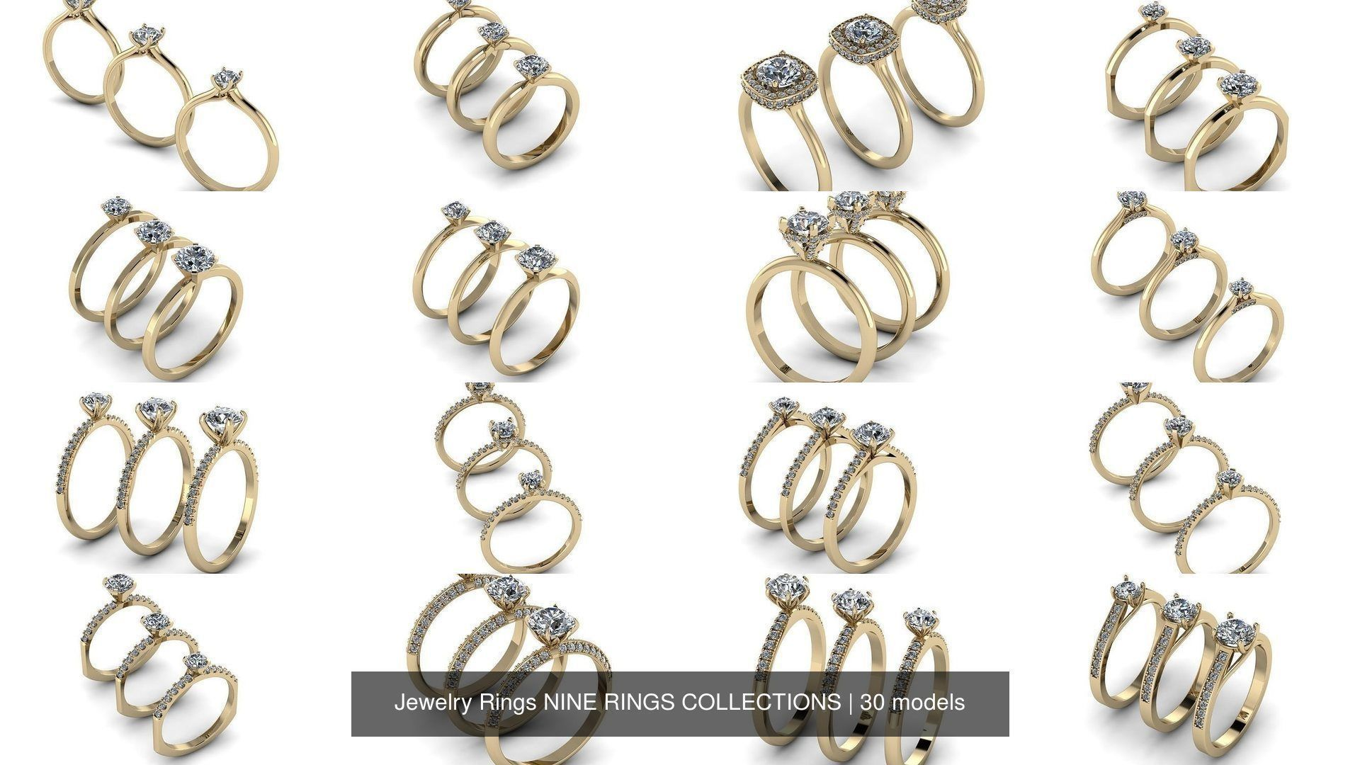 Jewelry Rings NINE RINGS COLLECTIONS