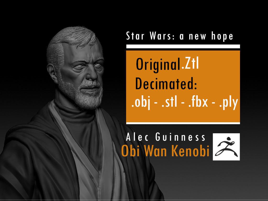 Alec Guinness - Obi Wan Kenobi - Star Wars