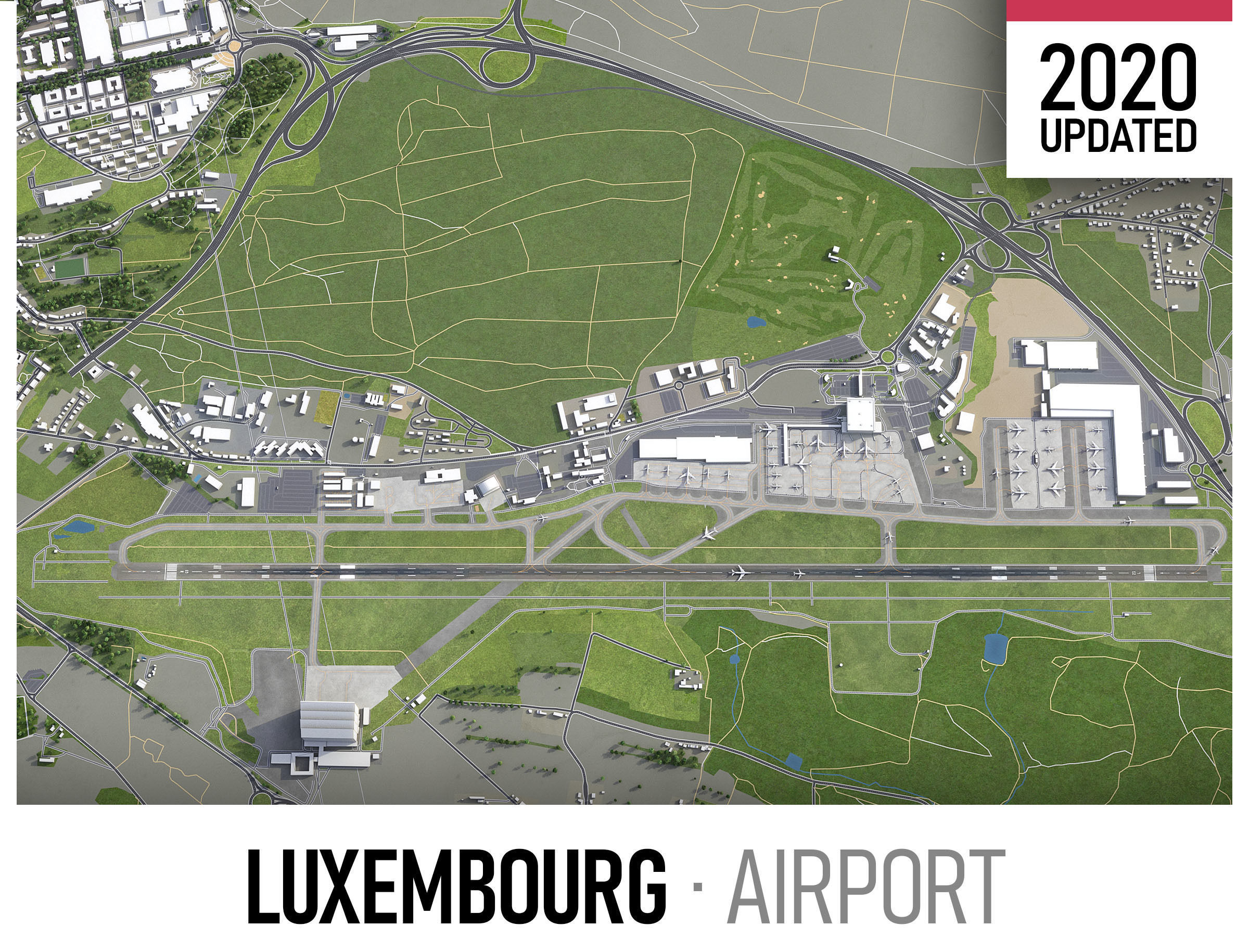 Luxembourg Airport - LUX