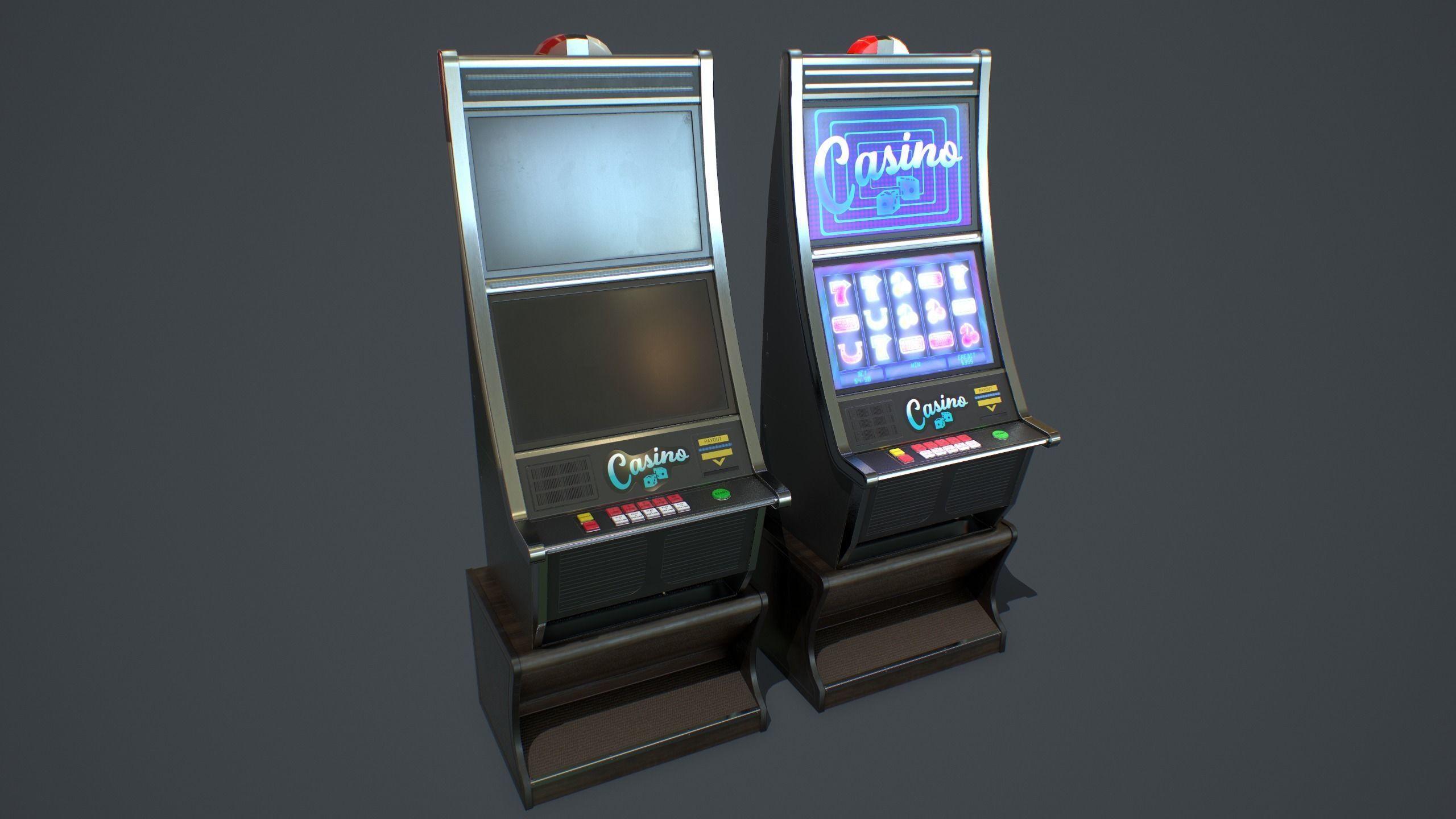 Casino Slot Machine PBR