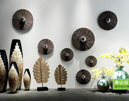 household 3D model Wall decoration