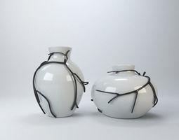 Modern vase 3D