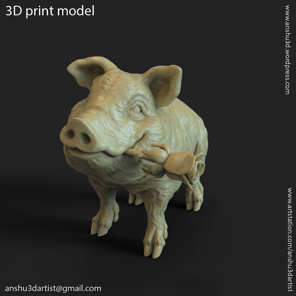 Pig vol1 Miniature figure
