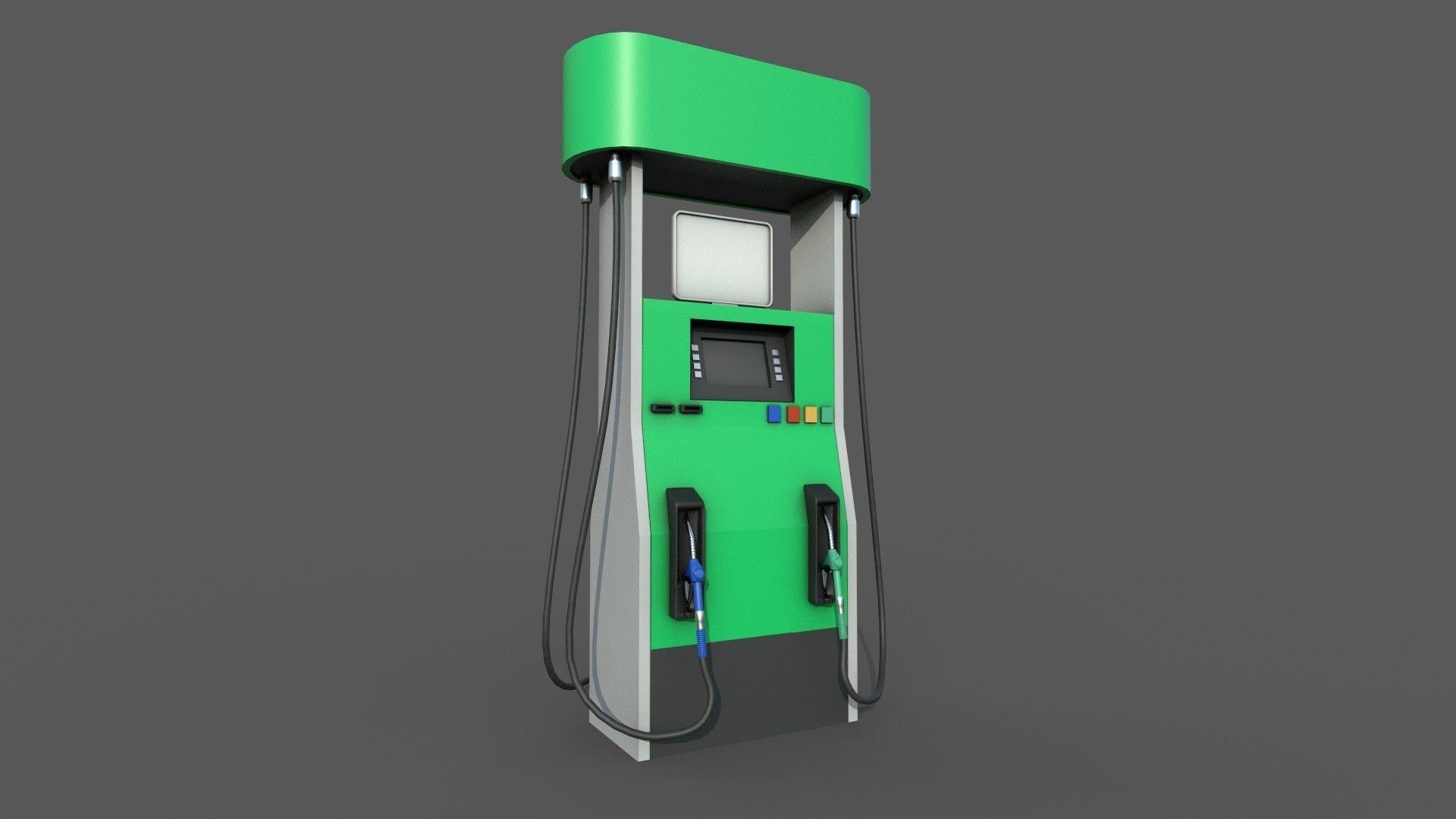 Gas Pump Realtime