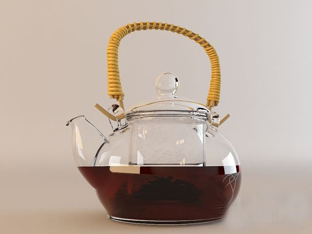 kettle 3d model max fbx 1