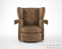 3d lorenzo tondelli ava armchair