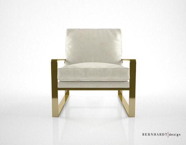 Bernhardt design dorwin chair 3d cgtrader for Furniture 3d design