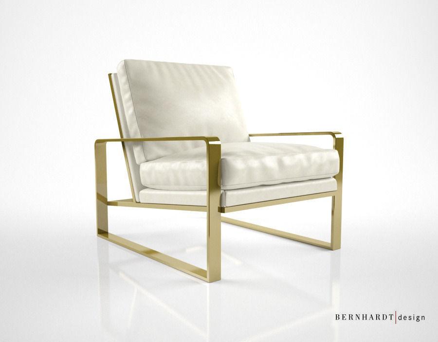 Bernhardt Design Dorwin chair 3D model MAX OBJ FBX MTL