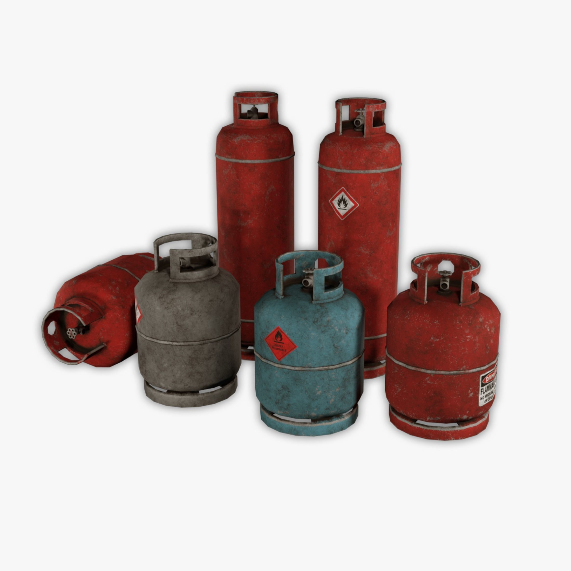 6 Fuel tank pack