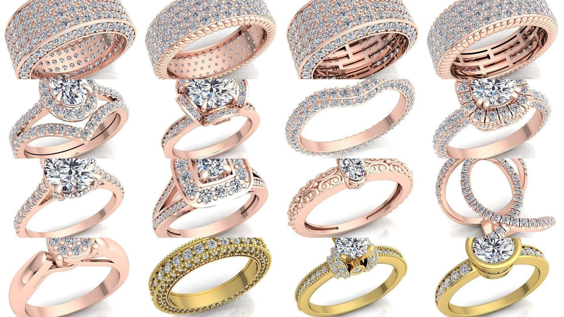 Fancy Bulk Collection Diamond Ring