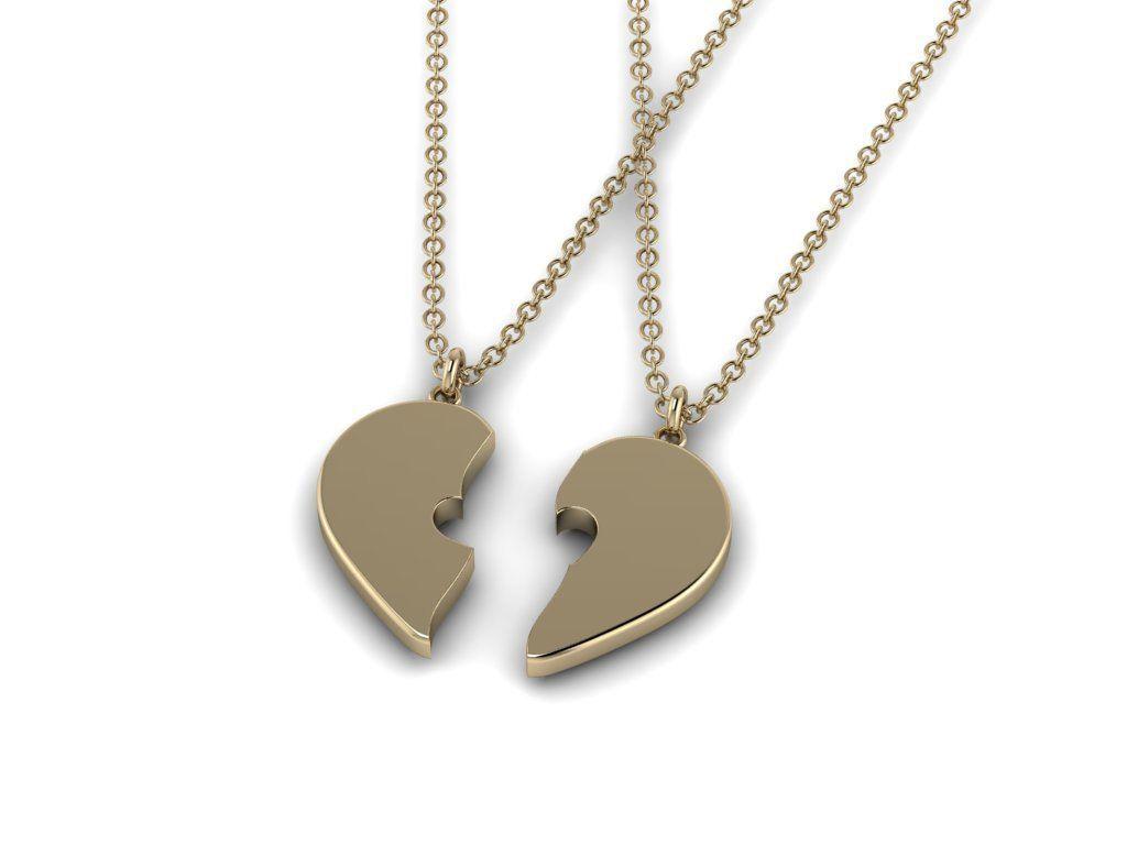 Heart Jewelry Pendant 02