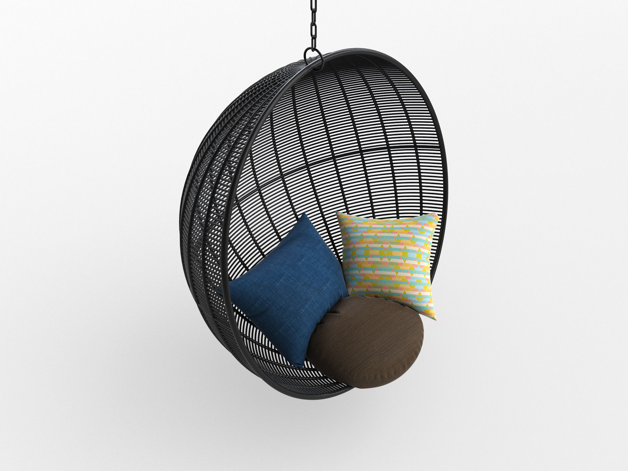 3d Model Robe Hanging Chair Cgtrader