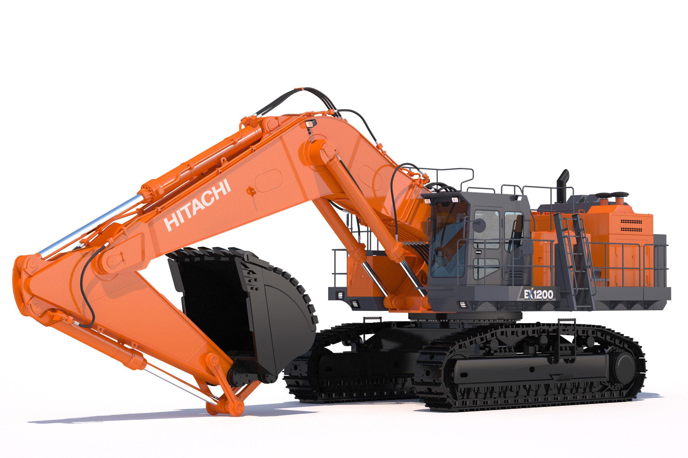 Excavator Hitachi EX1200-7
