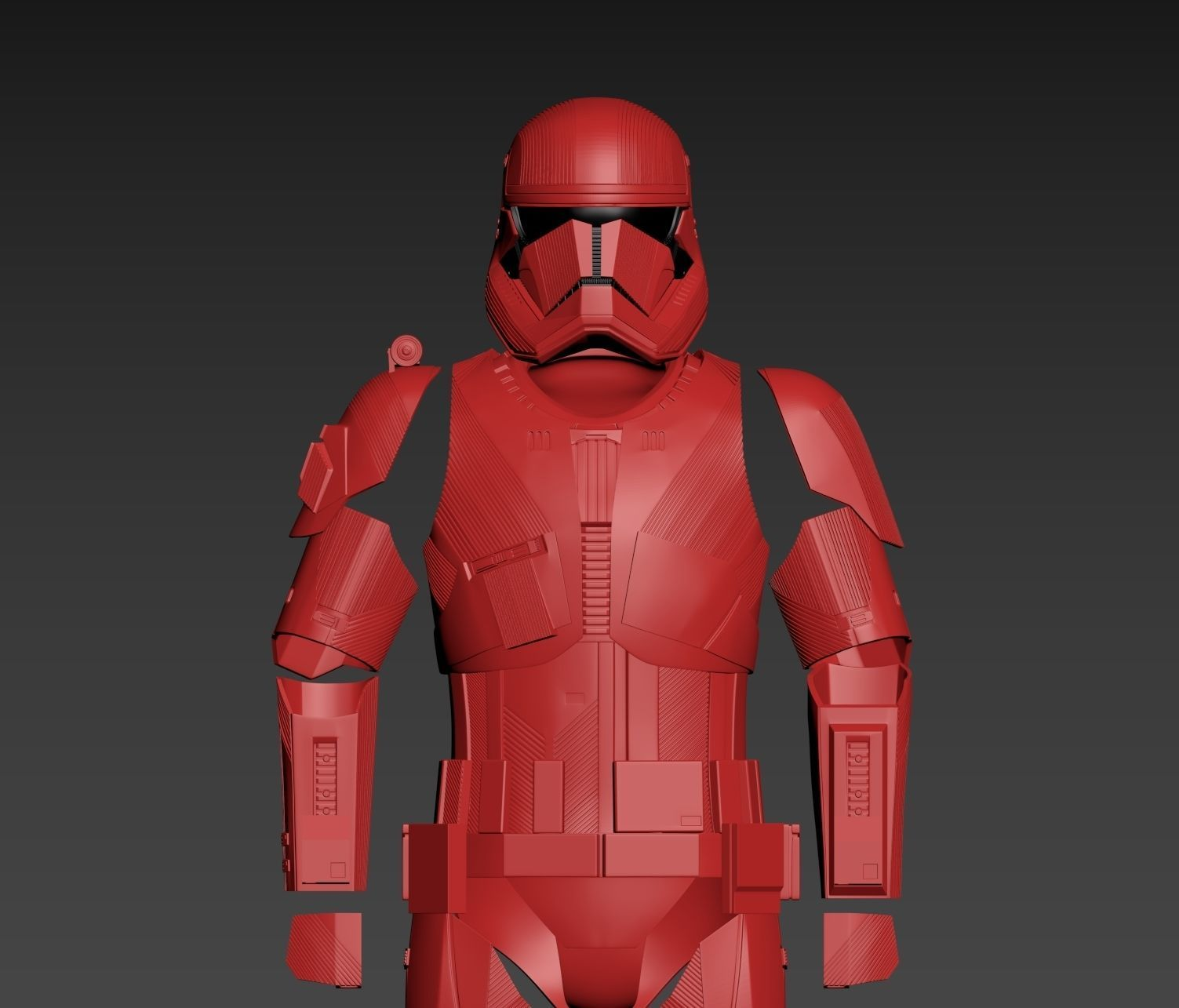 Star Wars EP9 The Rise of Skywalker Sith Trooper Full Armor