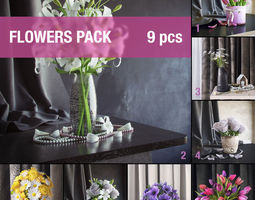 Flowers pack 3D