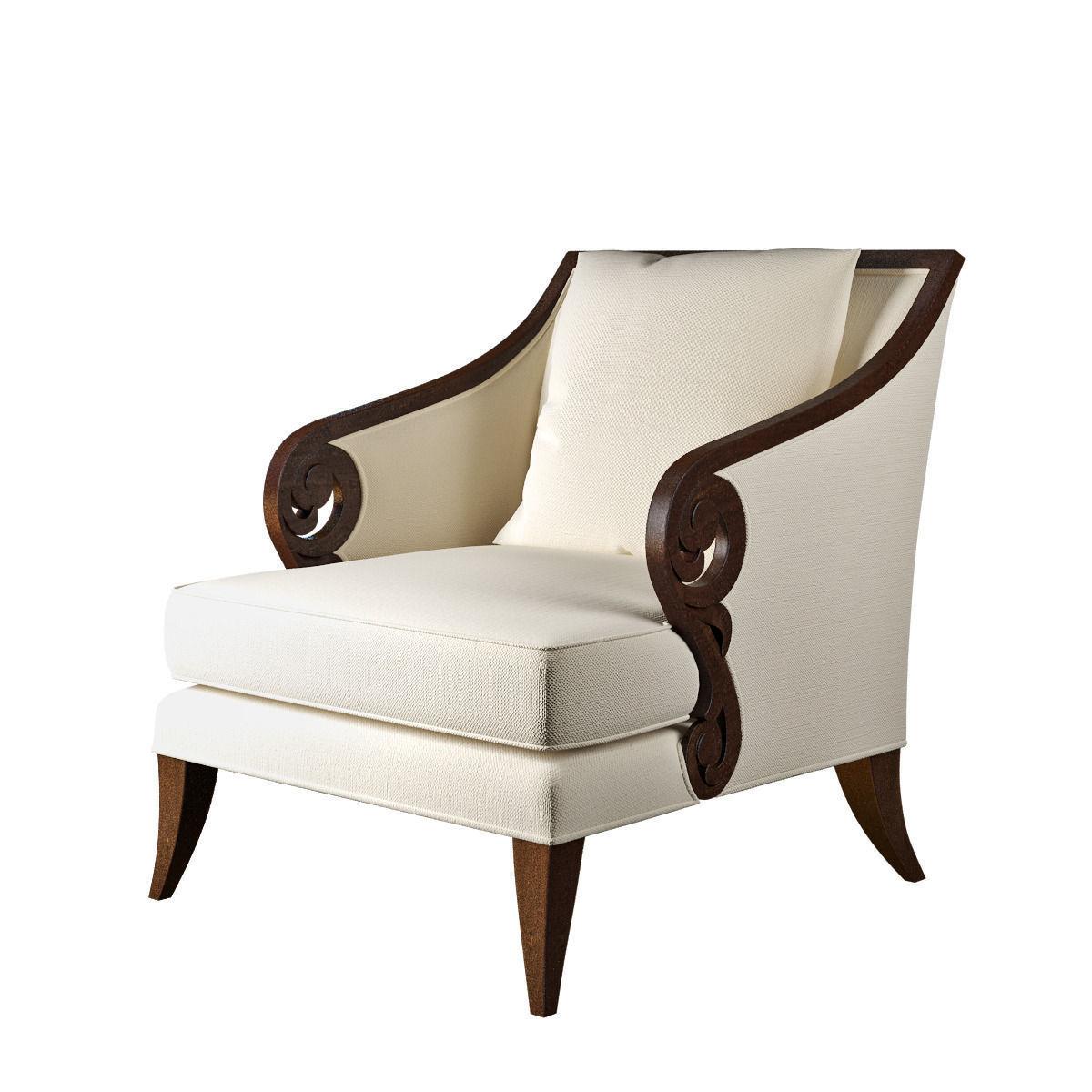 Christopher Guy Furniture Christopher Guy Jude Chair 3d Model Max Obj 3ds Fbx Mtl