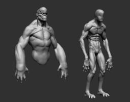 body forms 3d model