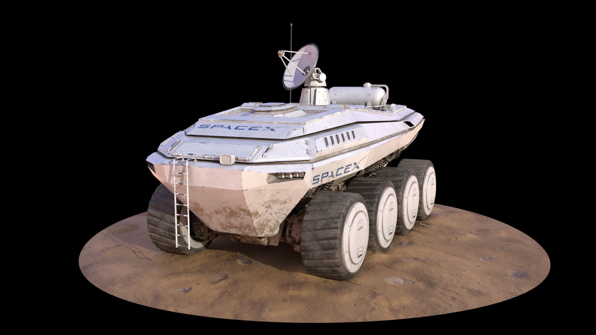SpaceX Mars Rover