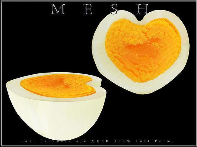 Half of Heart Egg