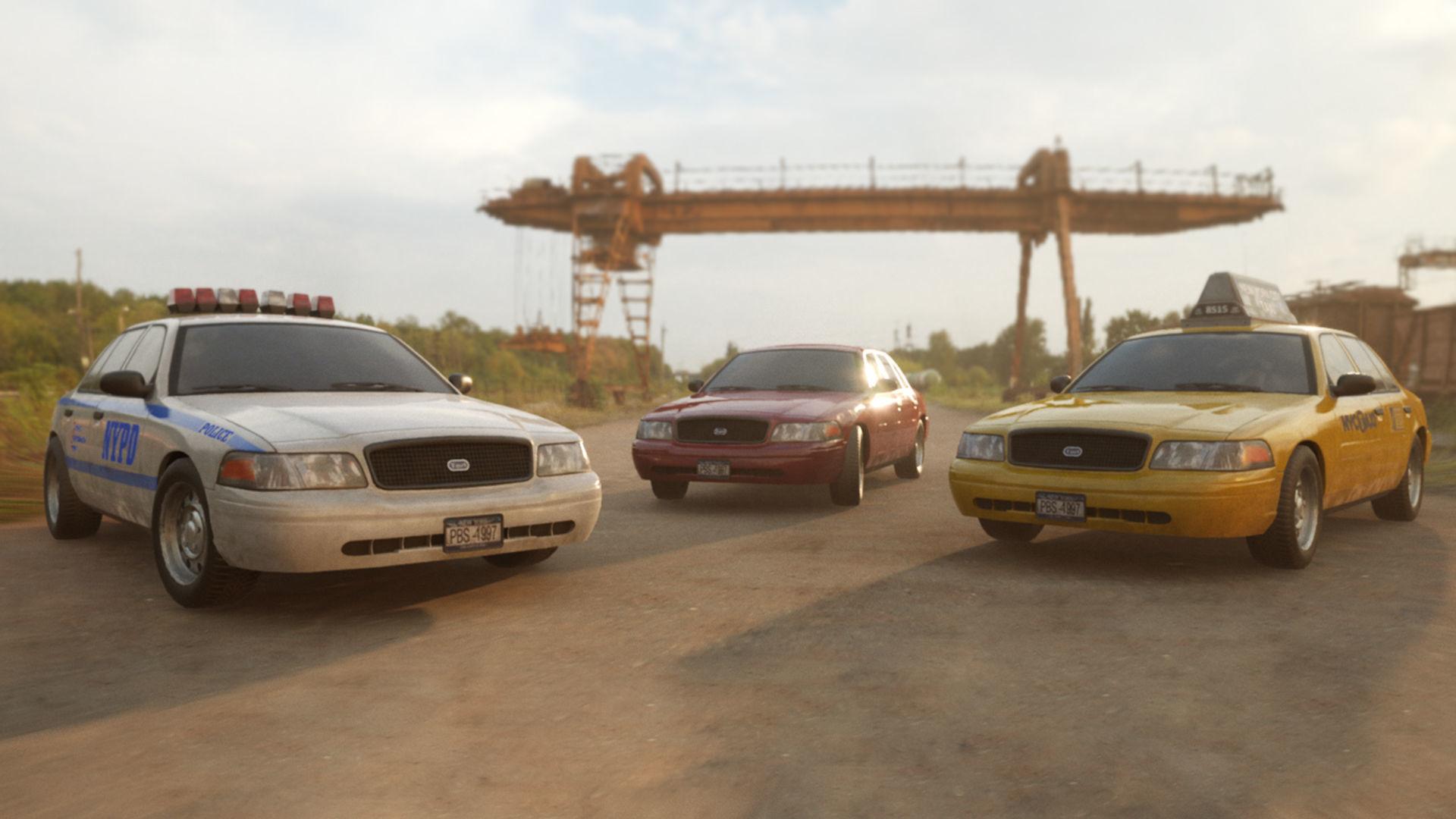 Generic Sedan Car Pack