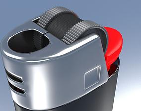 bic 3D model Lighter