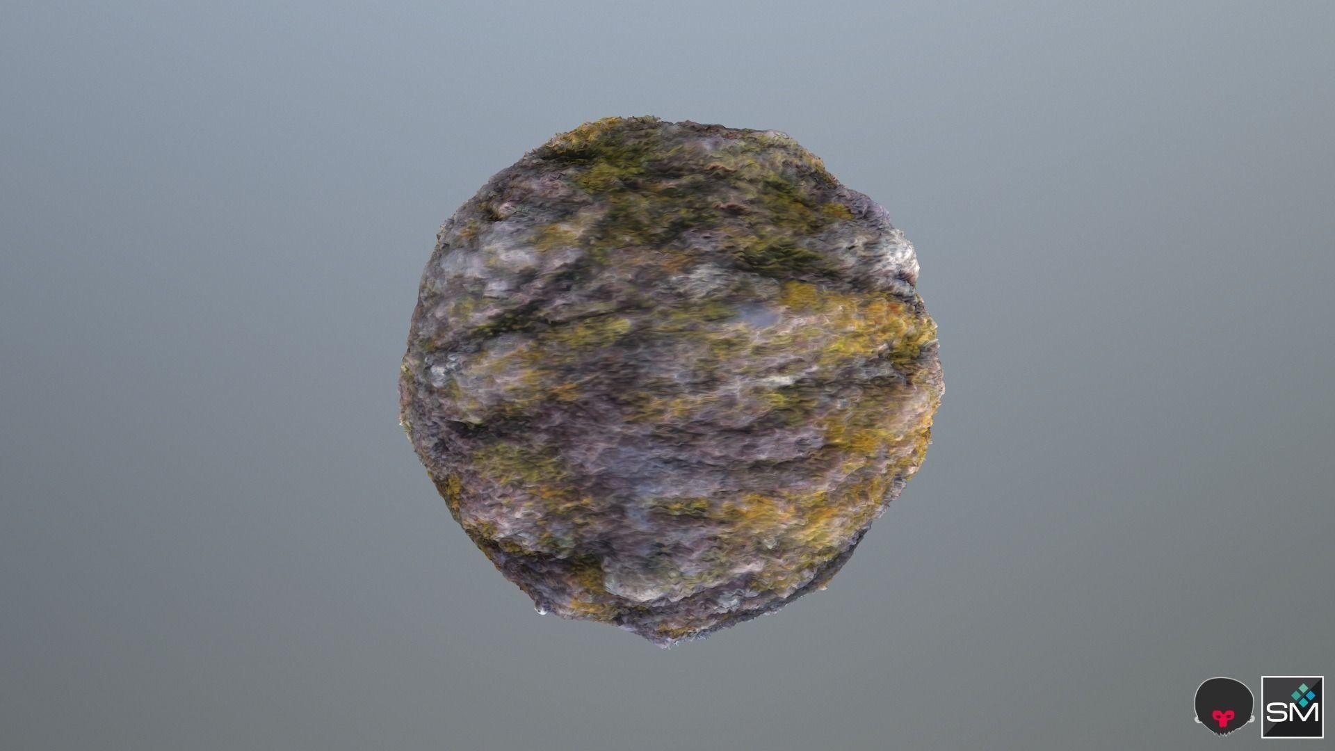 Mossy stone pbr