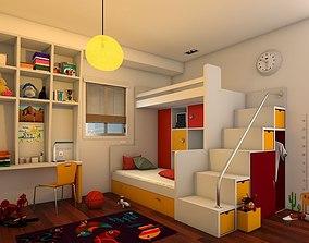 Kids BedRoom 3D