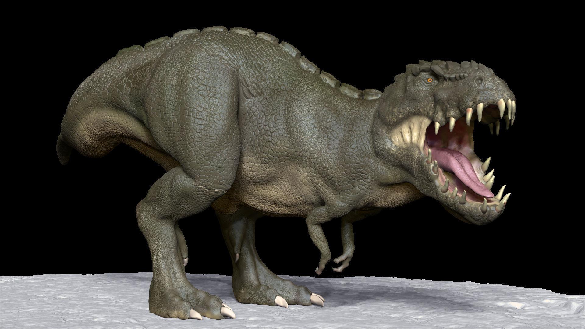 Realistic Dinosaur  T-Rex  tyrannosaurus Rex