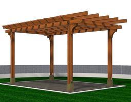 other 3D model Wooden Pergola