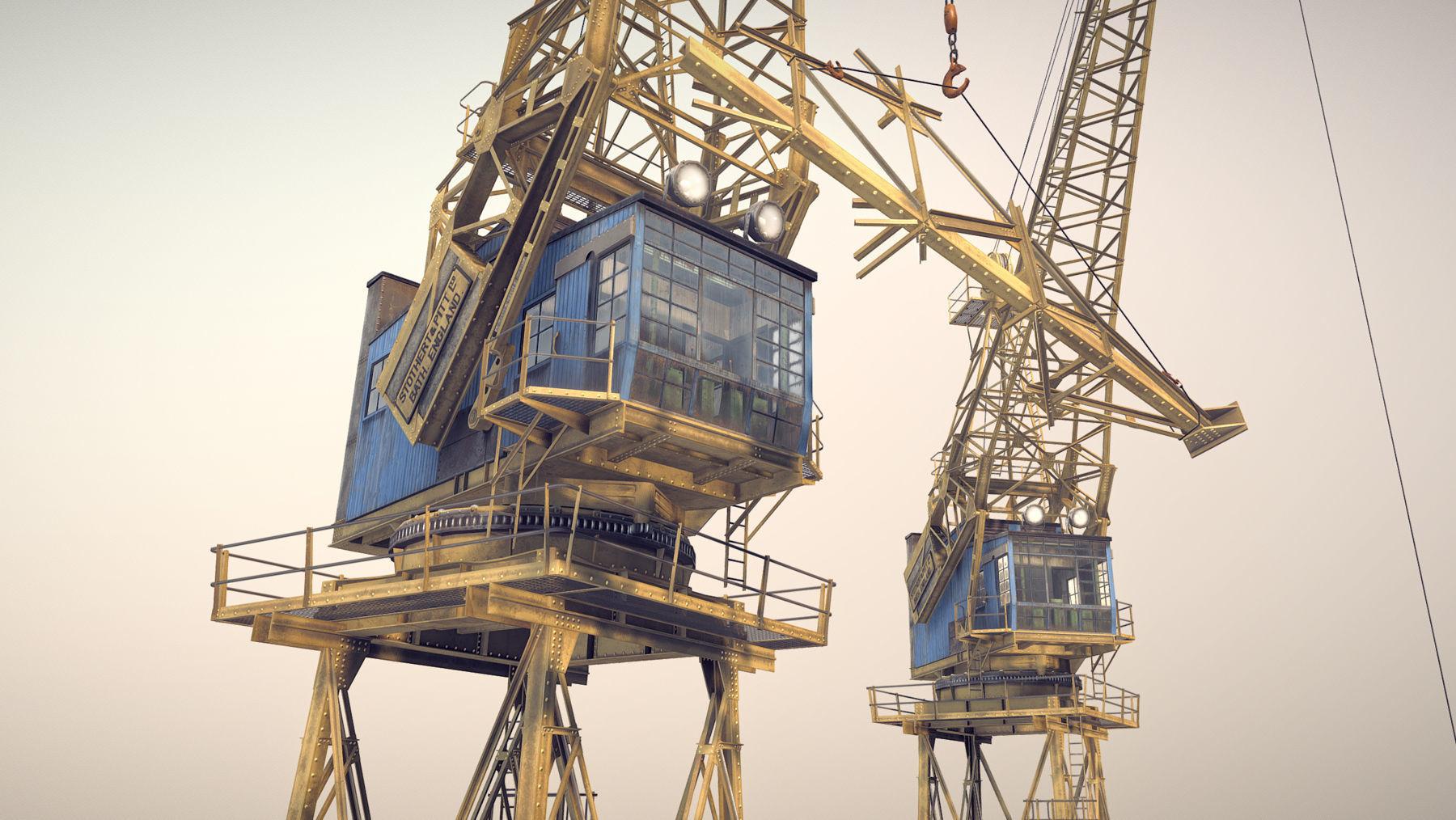 Crane STOTHERT-PITT livery ver-2