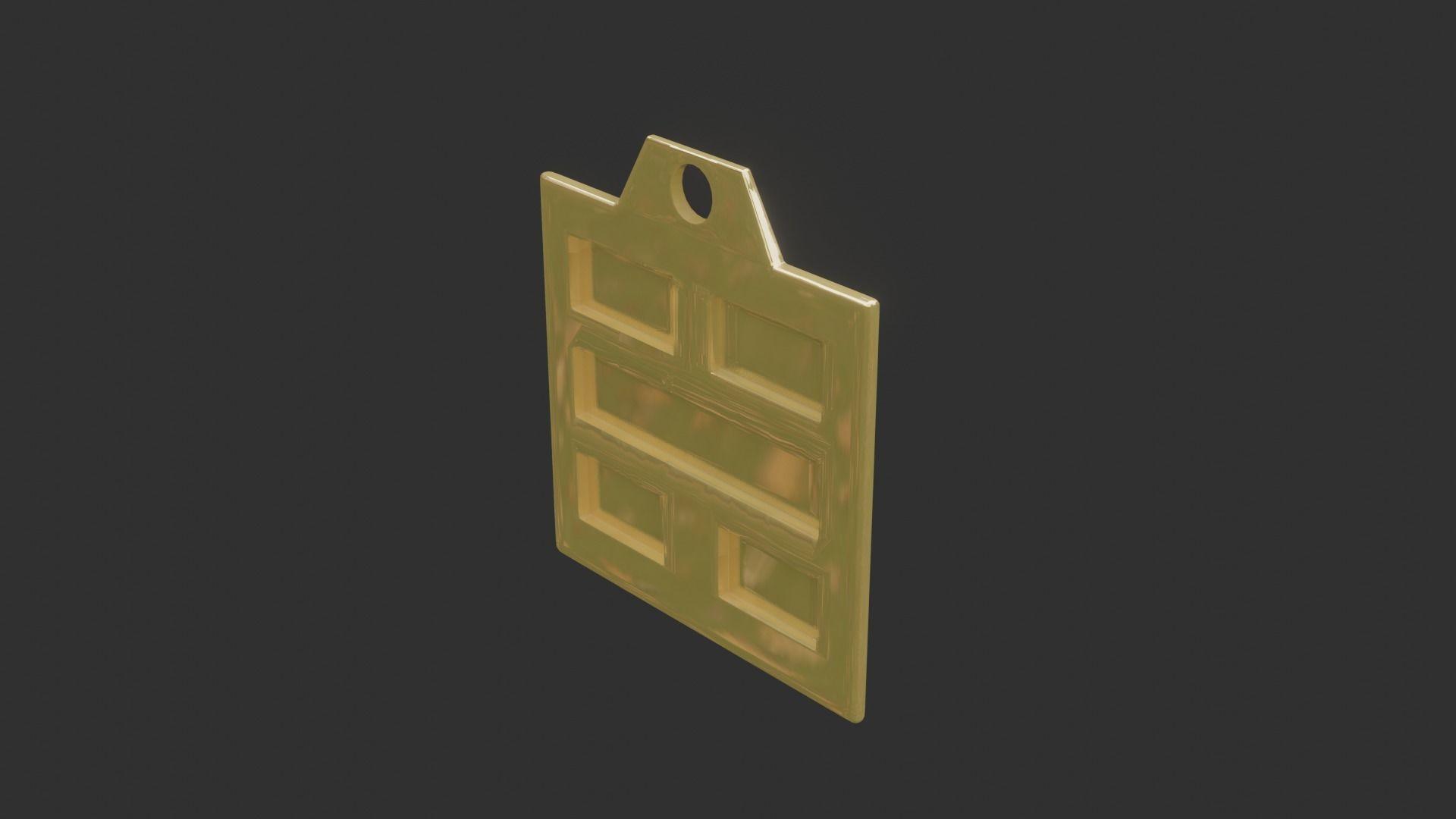 rgd kan trigram pendant mk2