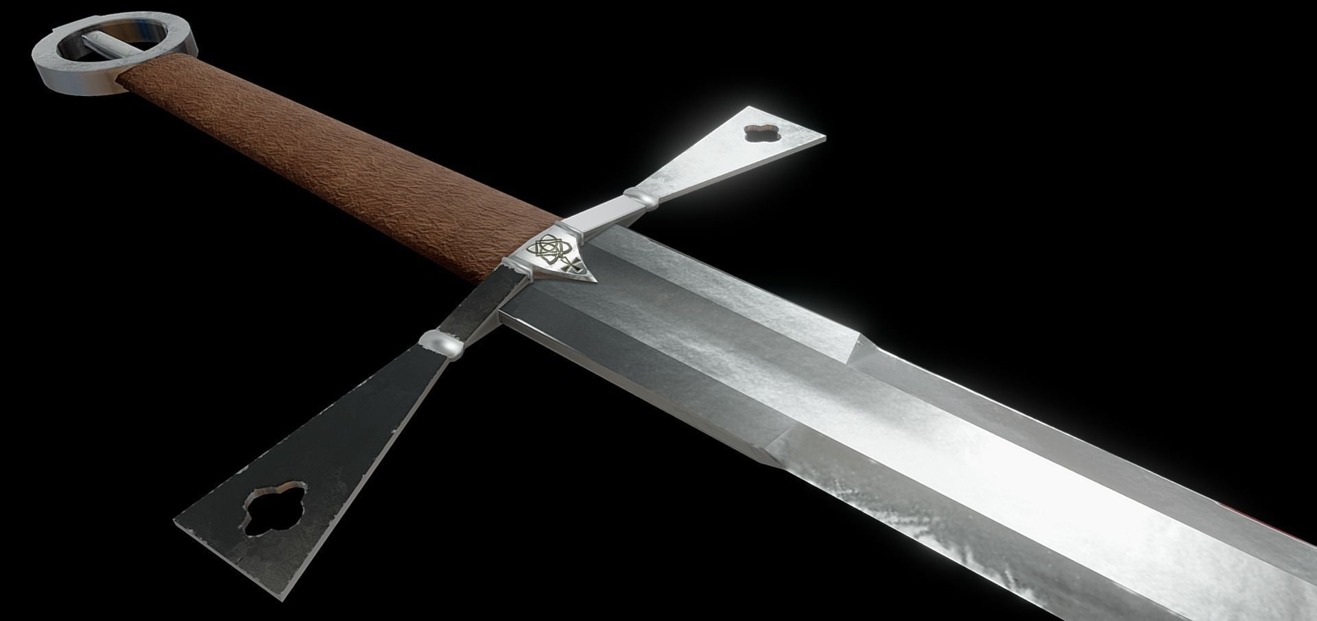 Gallowglass Irish Medieval Sword