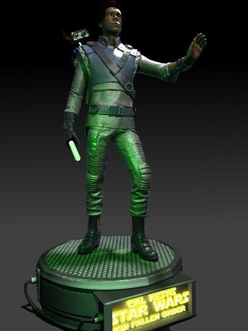 3D printable model Star Wars Jedi Fallen Order Cal 2