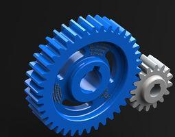 spur gear paramertrized model catia v5 original model