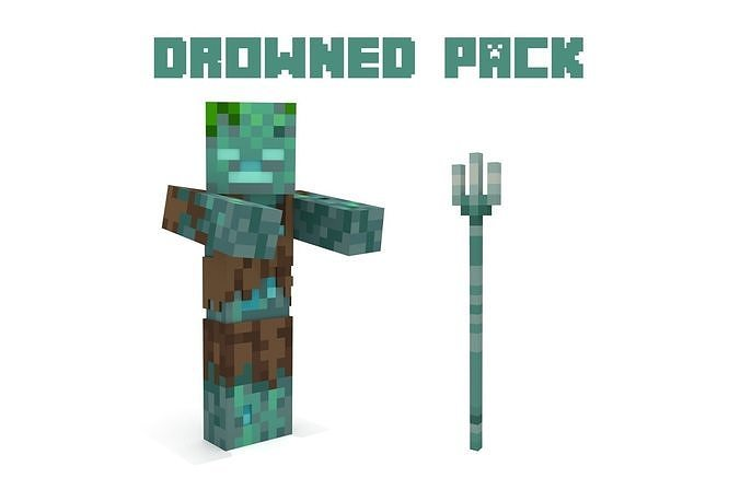 Minecraft Drowned PACK