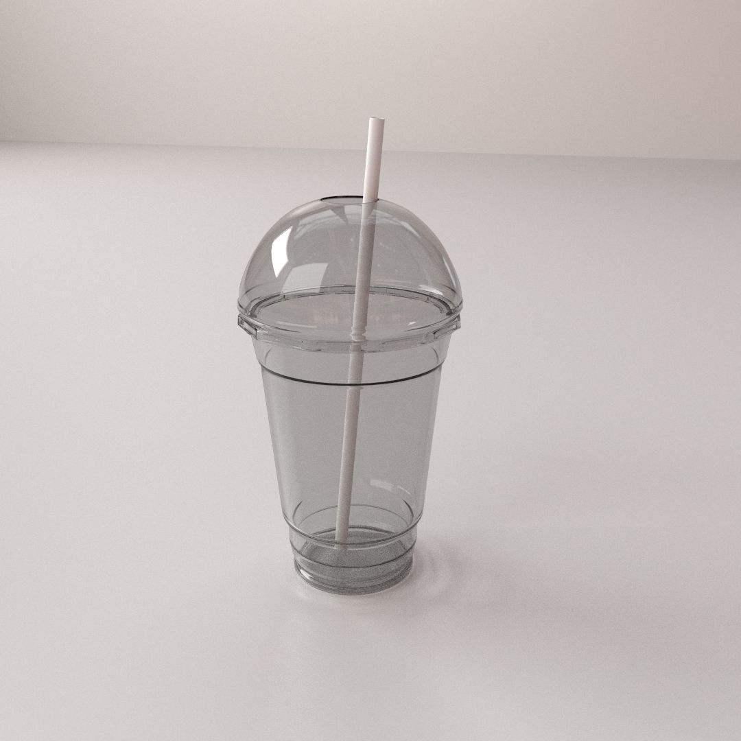 3D Dome Disposable Cup   CGTrader