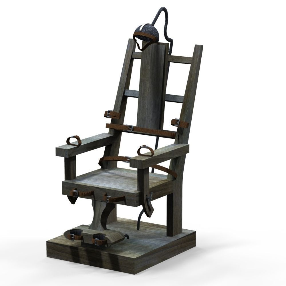 how to draw an electric chair