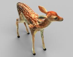 3D asset Tiny Fawn