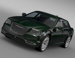3D model Chrysler 300C Platinum LX2 2017