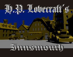 game-ready 3d asset lovecraft innsmout