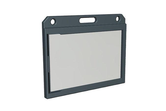id card holder 3d model stl 1 - Id Card Holder