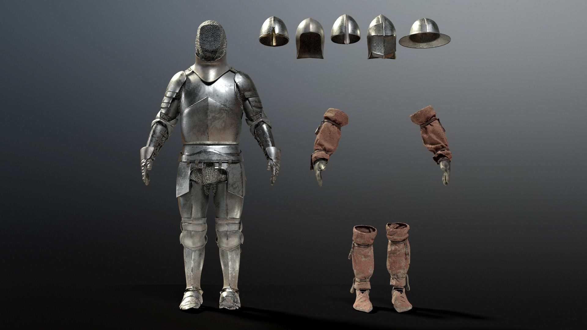 SOLDIER Medieval Knight