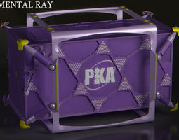 futuristic dynamic dampening container 3d model max