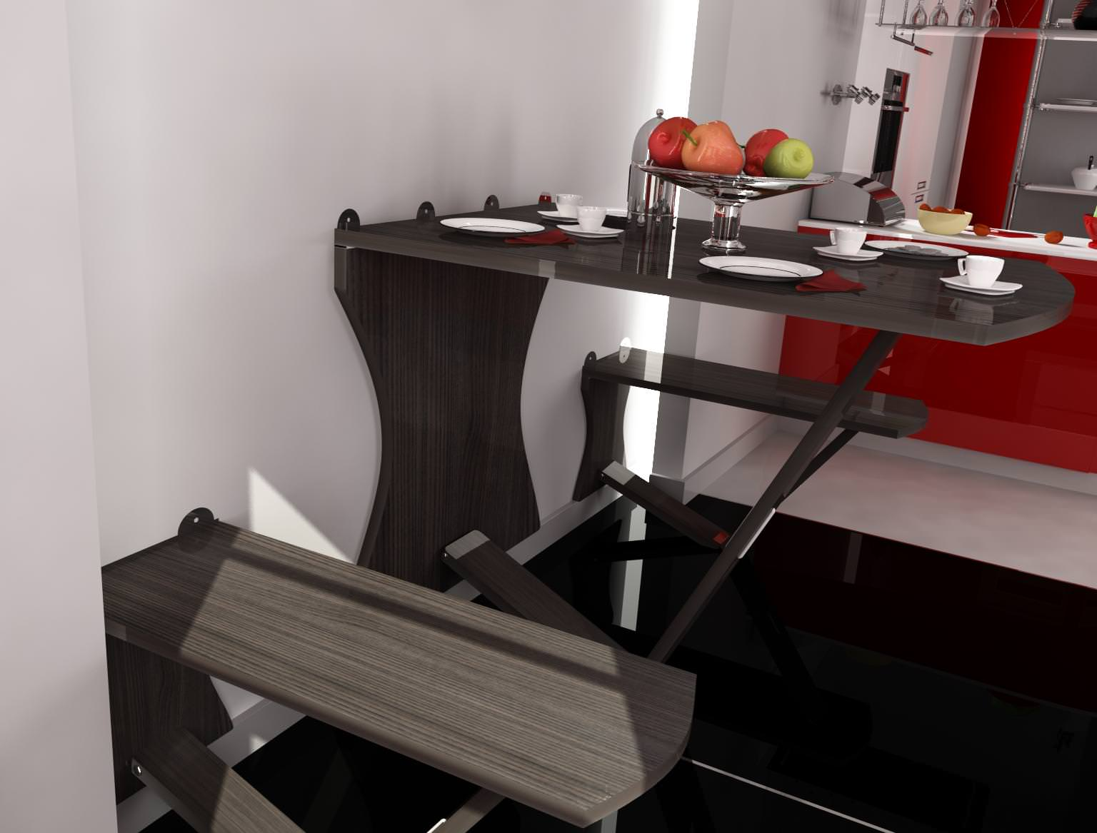 Kitchen Wall Table Model Max 6