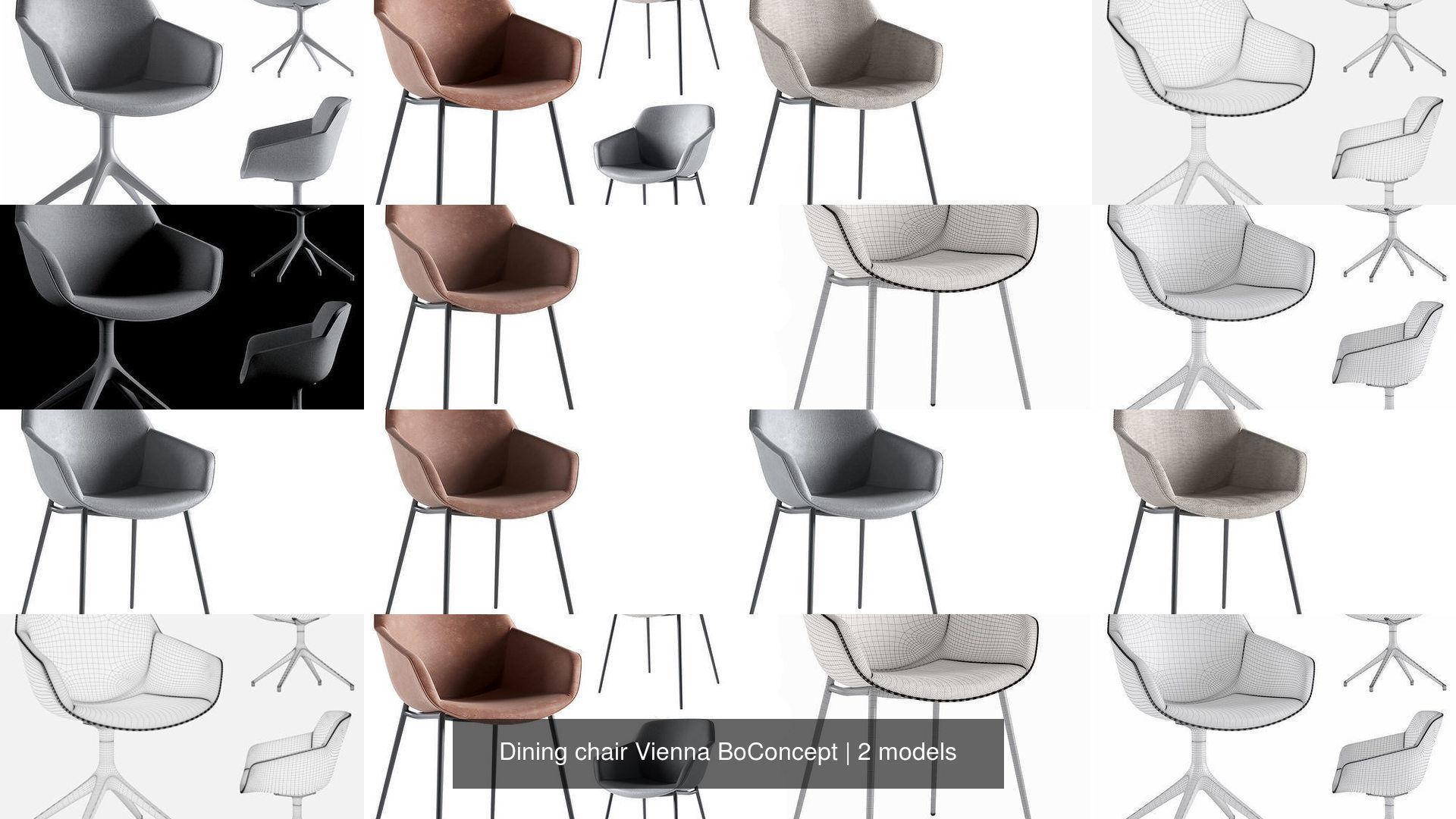 Dining chair Vienna BoConcept