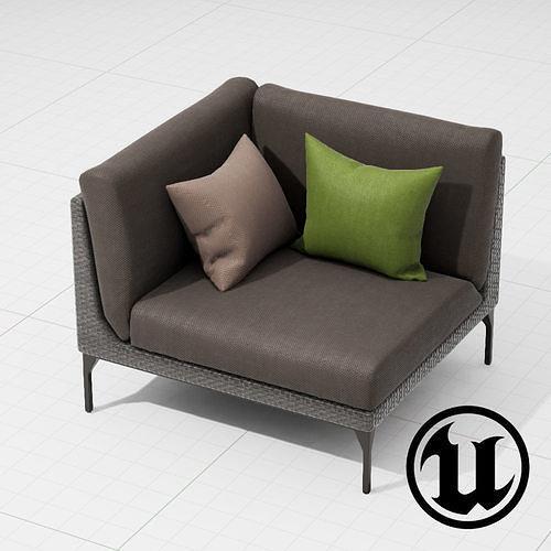 Dedon Mu Chair 002 UE4