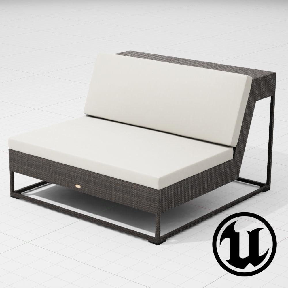 Dedon Zofa Chair 002 UE4